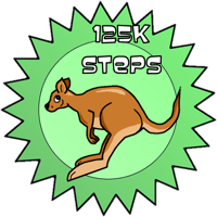 Speed Award, 125K steps