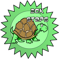 Speed Award, 20K steps