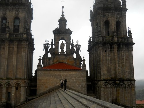 The Santiago Cathedral Roof Tour