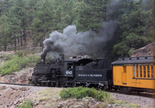 Durango & Silverton historic train