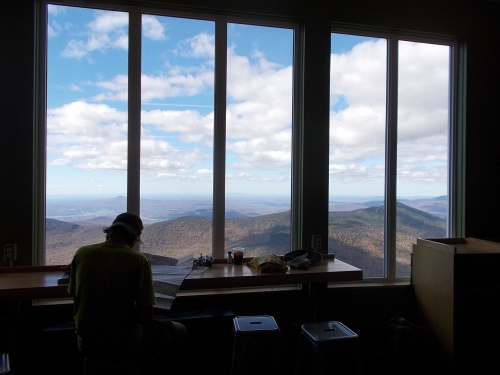 View from Jay Peak Snack Bar