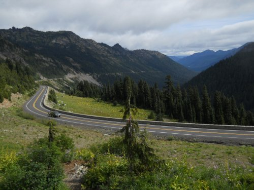 View from Chinook Pass