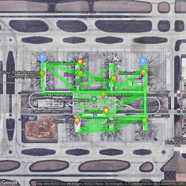 Sky Harbor Trail Map