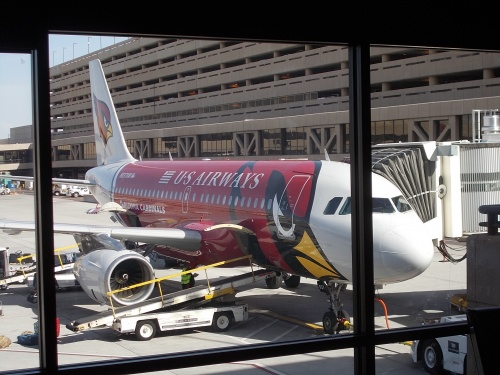 Arizona Cardinals plane