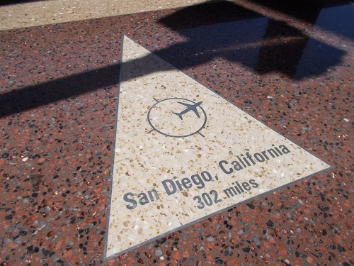 San Diego--just 302 miles away!