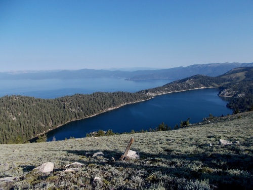 Marlette Lake and Lake Tahoe