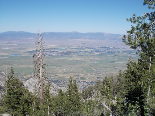 Overlooking the Carson Valley