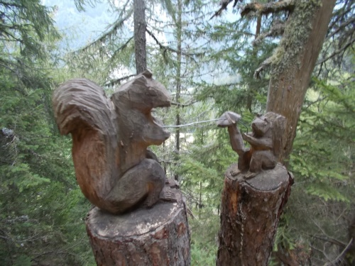 Wood carvings!