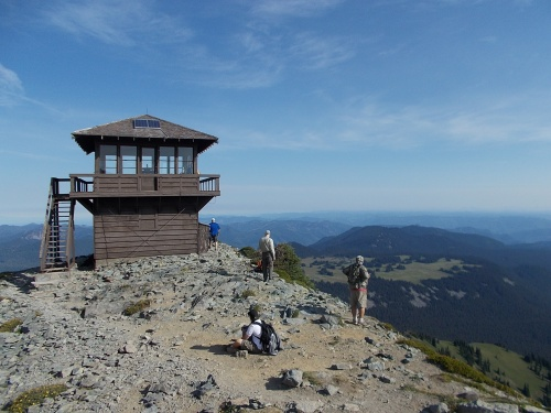 Fremont Fire Lookout Tower